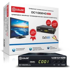 купить TV-тюнеры D-COLOR DC1002HD